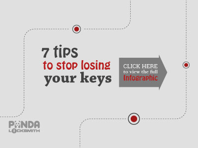 7 tips to stop losing your keys Banner