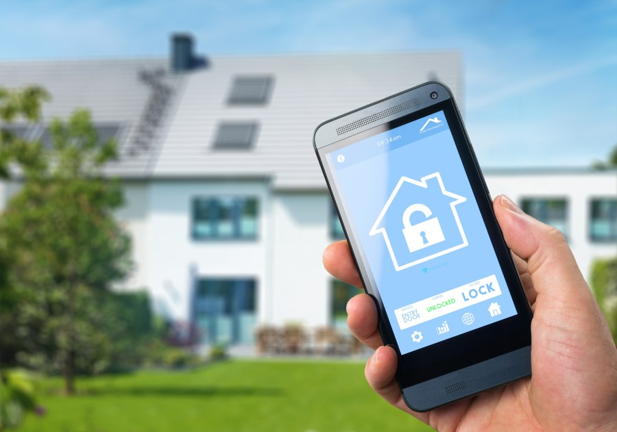 smart house security system advantage